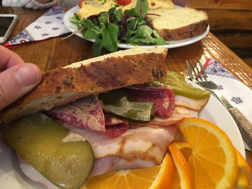 omelegg amsterdam bacon sandviç