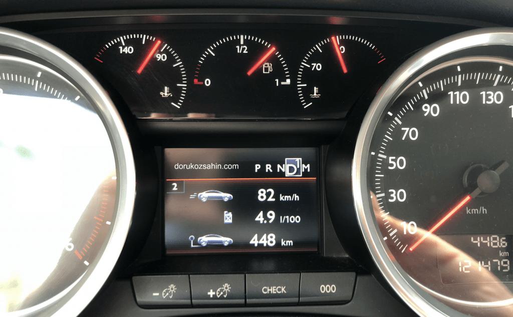 peugeot 508 uzun yol yakıt nasıl