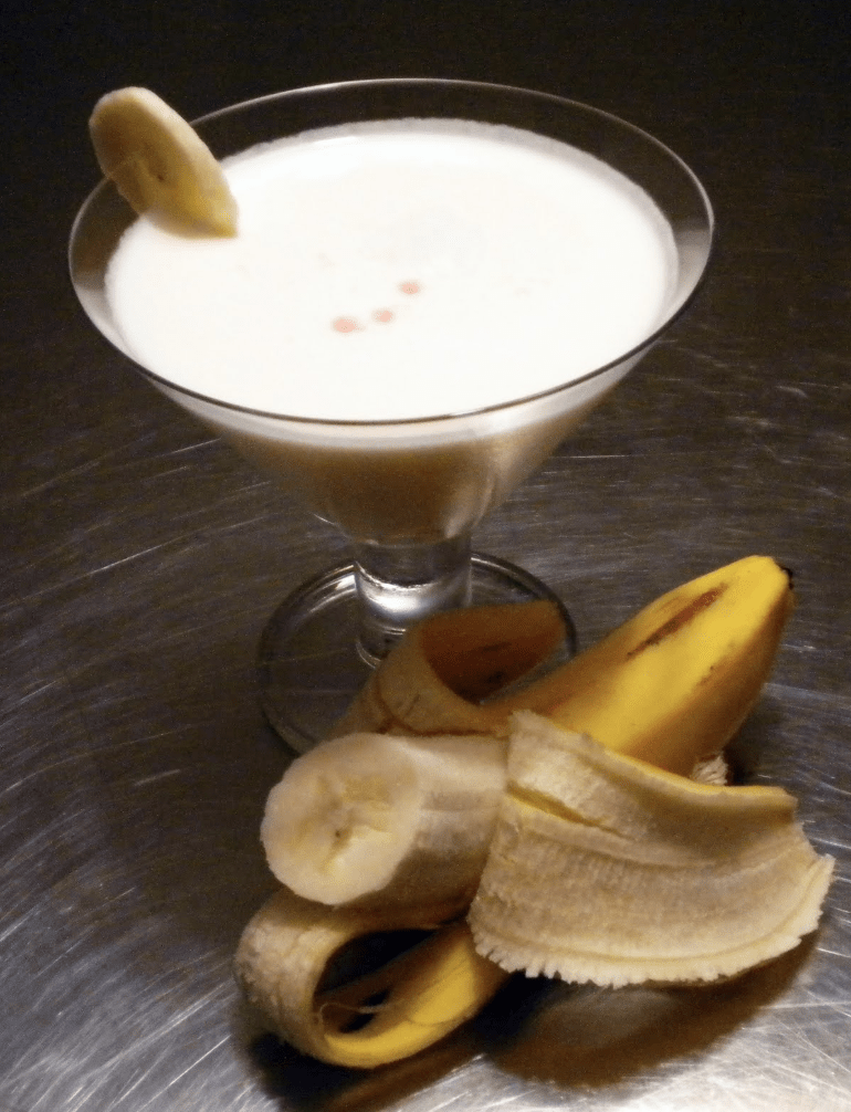 banana bliss brandy kokteyl