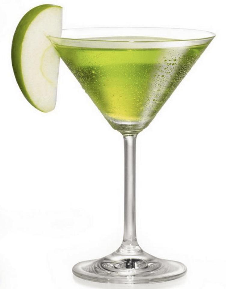 elmalı brandy kokteyl