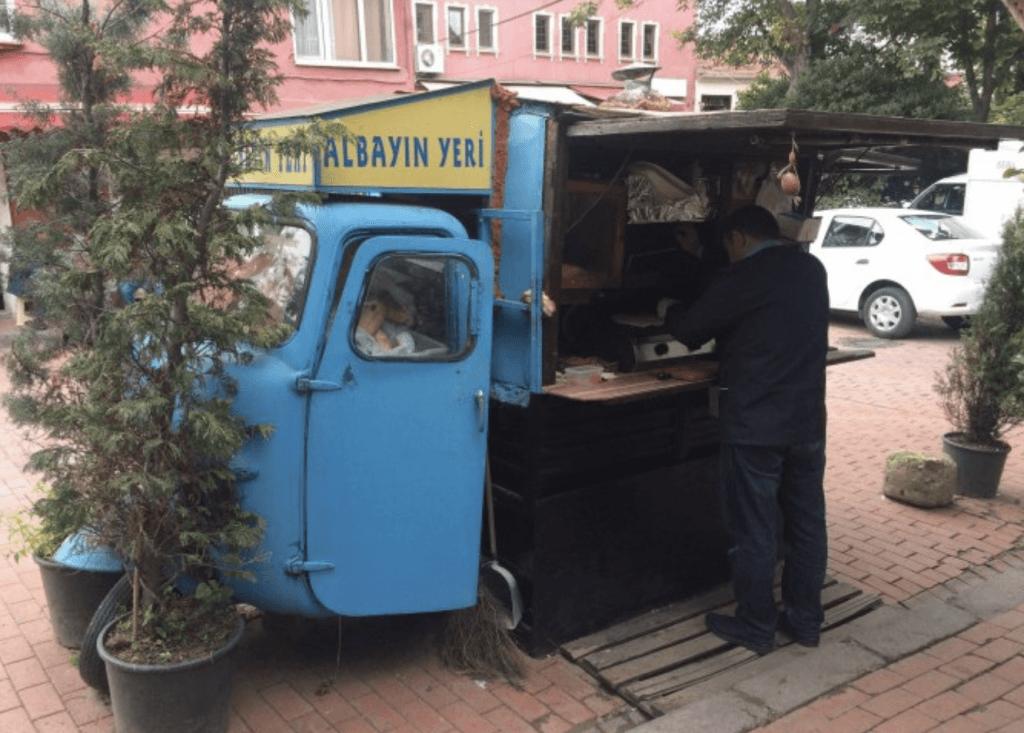 albayın yeri tost