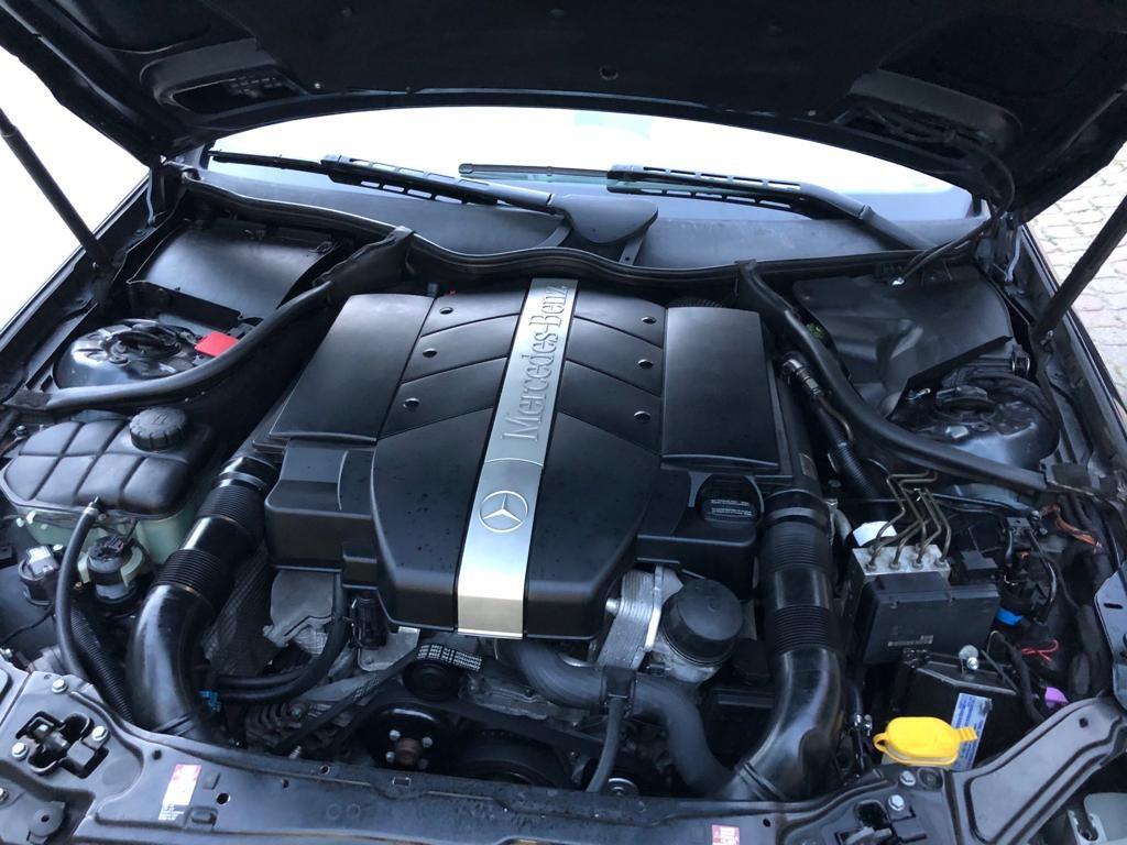 mercedes clk 320 motor