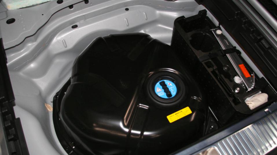 mercedes e350 blueTec adblue tankı