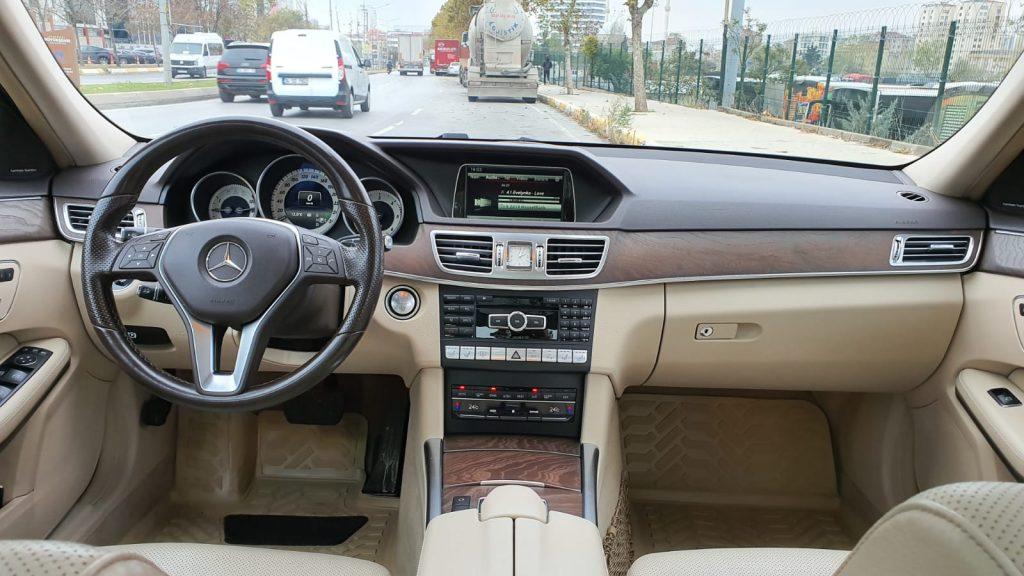 mercedes e350 bluetec 4 matic iç mekan