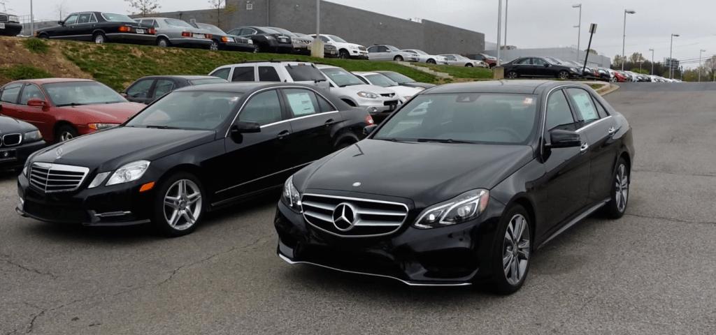 w212 e serisi facelift vs eski